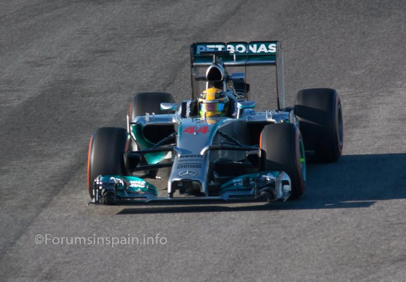 Jerez 2014 F1 testing